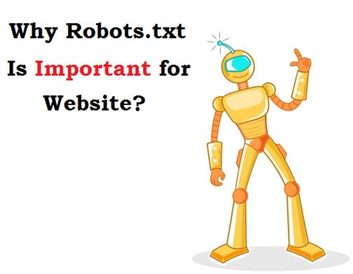 create robots.txt file