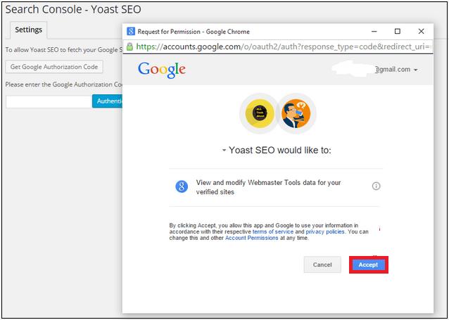 google search console verifaction