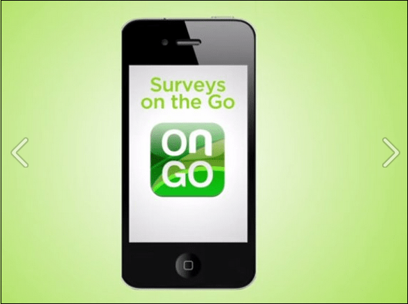 survey on the go