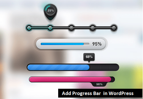add progress bar