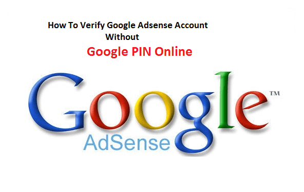 verify google adsense without pin