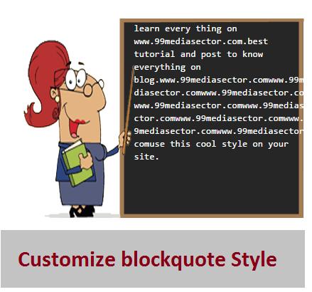Blockquote