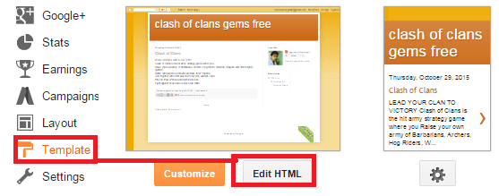 template in blogger-min