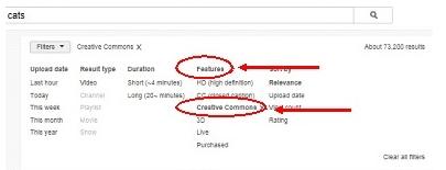 creative common video on youtube