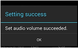 increase volume in android