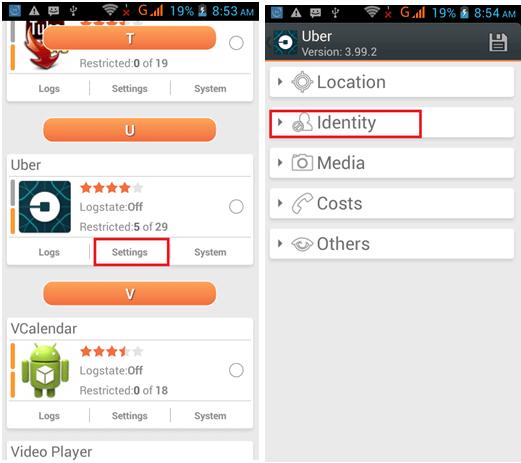 change device id using donkey guard