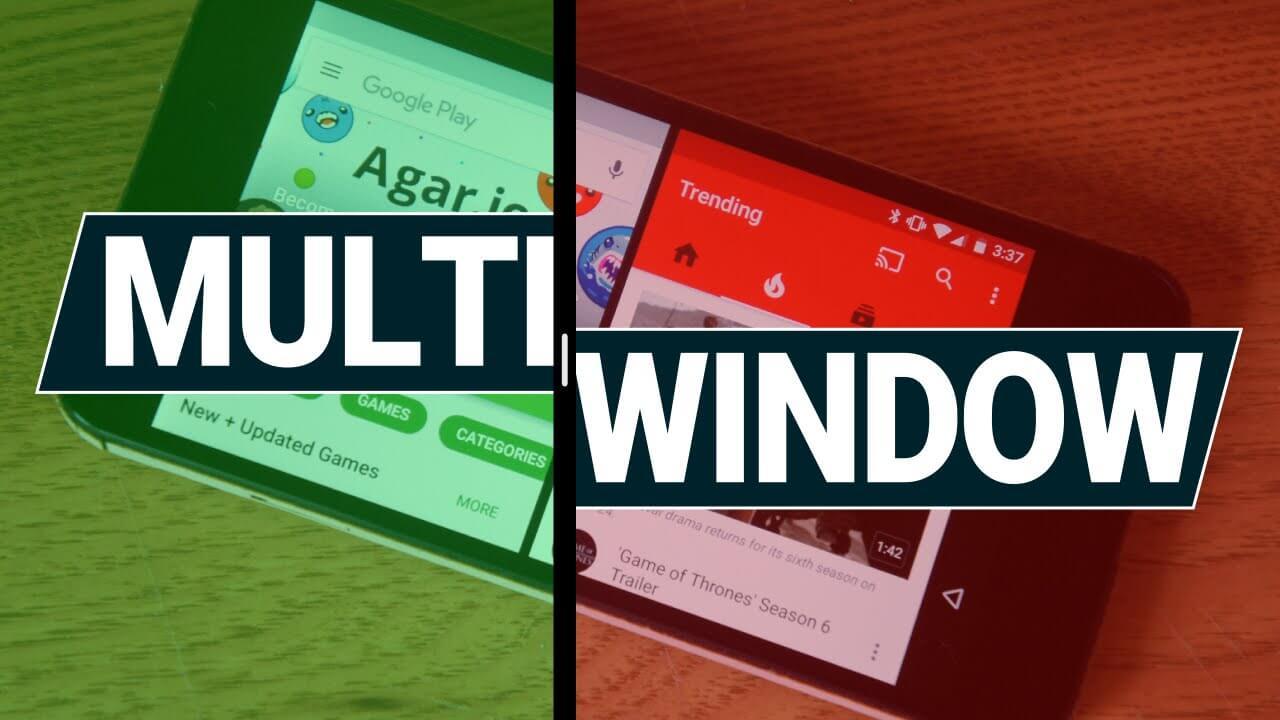 enable multi window mode