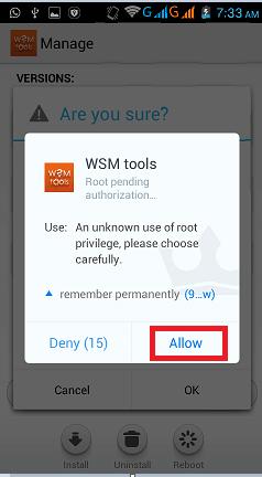 wsm root access
