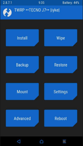 samsung j7 twrp recovery