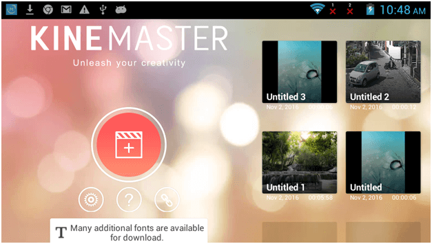 Add Video layer In KineMaster pro video editor