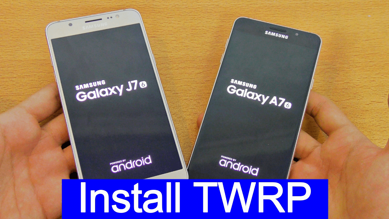 Install TWRP Recovery On Samsung Galaxy J7