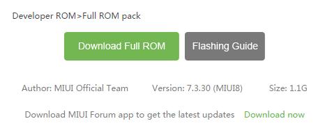 Xiaomi Mi4 Developer ROM