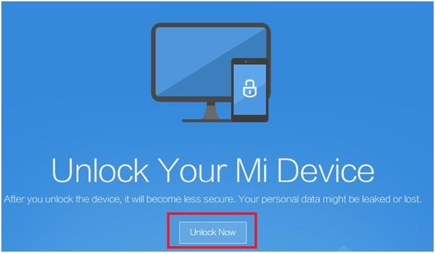 Unlock Bootloader Of Xiaomi mobile