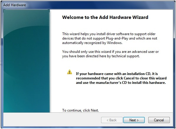 install vcom drivers on pc