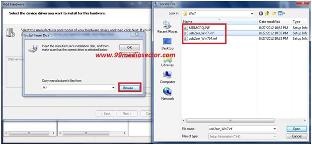 vcom drivers for windows 10