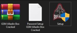 GSM Alladin setup file with password
