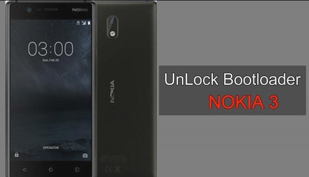 Unlock Bootloader Nokia 3
