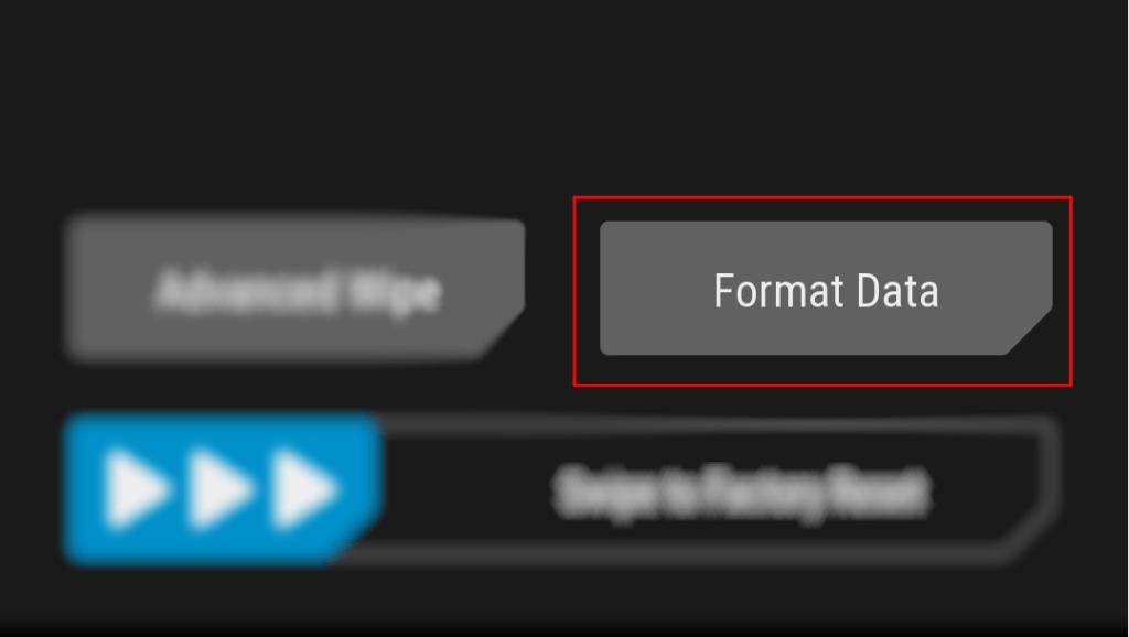 twrp format