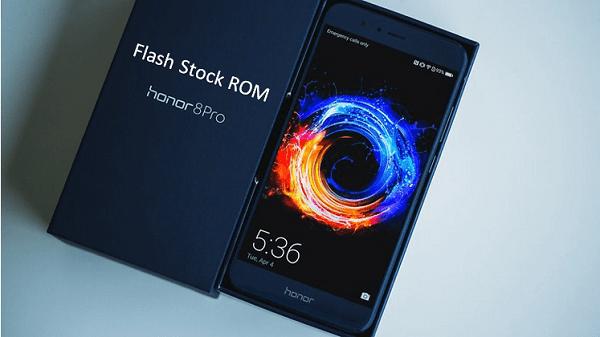 Install Stock ROM On Honor 8 Pro