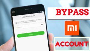 Bypass mi account verification