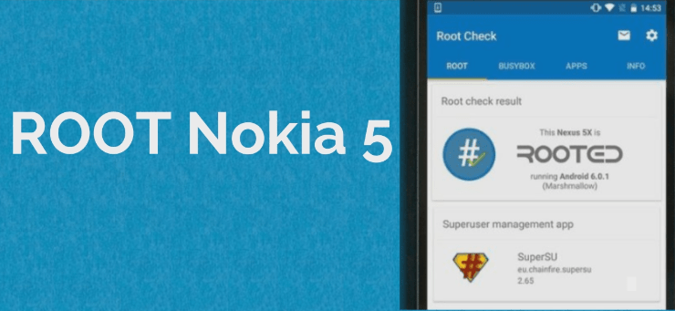 Root Nokia 5