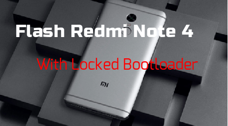 Flash MIUI ROm On Redmi note 4