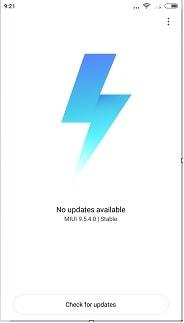 MIUI 9.5.4.0 global stable update