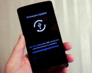 lg firmware upgrade screen