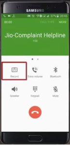 samsung call recording function