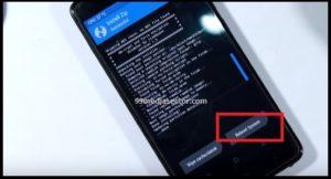 redmi note 4 MIUI10 flashing process