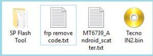 Tecno IN2 FRP unlock