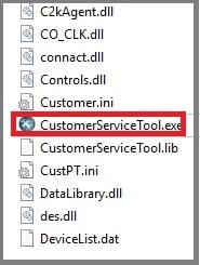 customer service tool setup