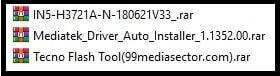 tecno in5 flash file and tool