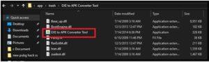 exe to apk convertr tool