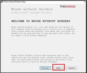 mouse without borders app installation