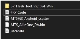 infinix note 5 frp unlock files