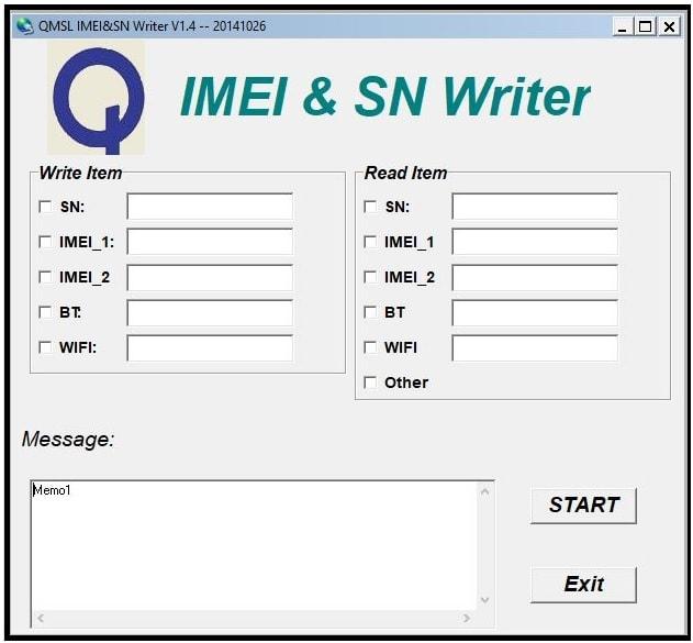 QMSL IMEI & SN Tool for qualcomm