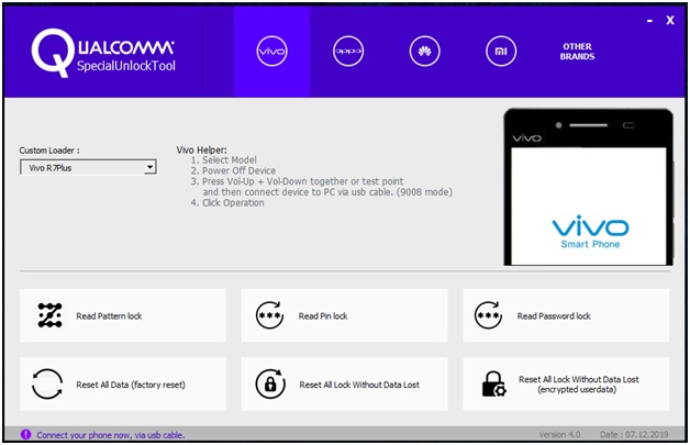qualcomm special unlock tool