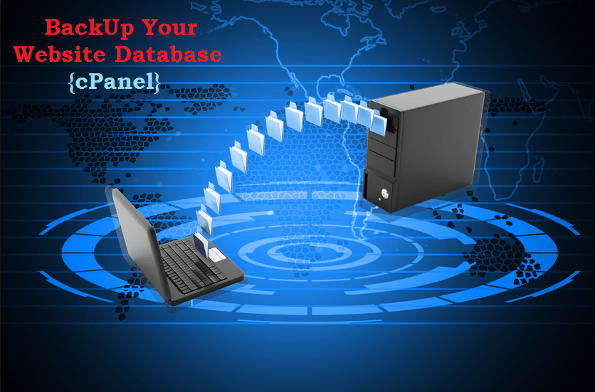 backup website by using cpanel