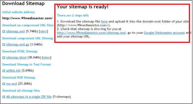 how to submit sitemap in google webmaster tool