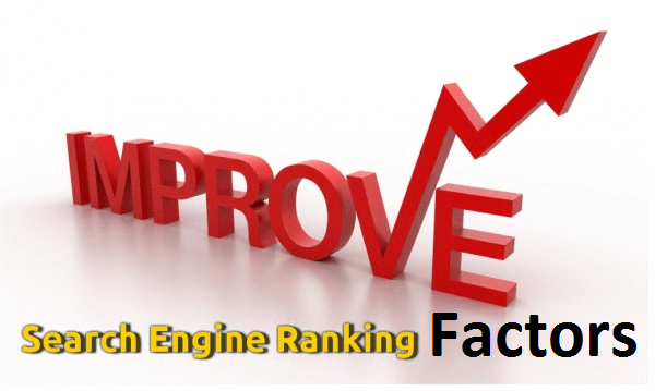 search engines ranking factors