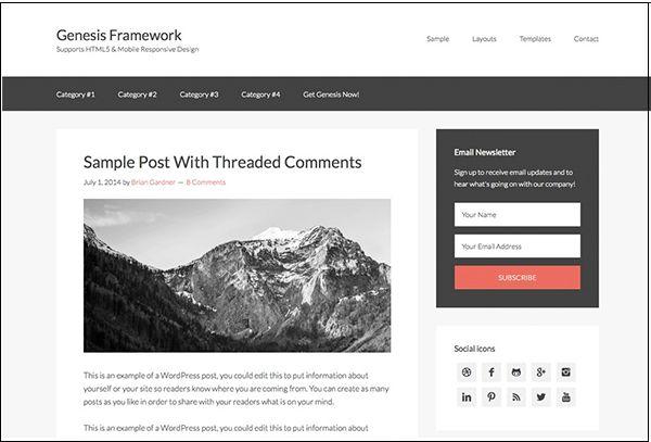 Genesis Framework theme,free theme,Genesis Framework theme download