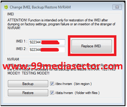 change imei with mtk droid tool