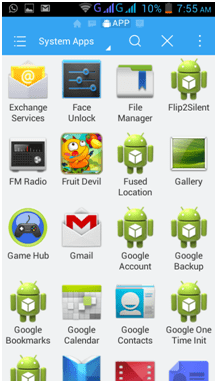 remove preinstalled apps