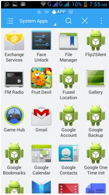 remove preinstalled apps