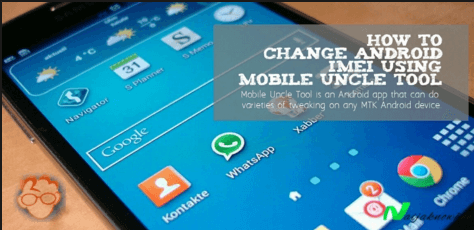 change imei using mobile uncle tool