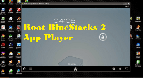 bluestack rooted latest version