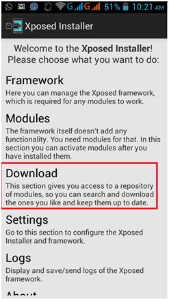 xposed modules