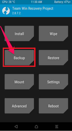 android backup,android backup and restore,nandroid backup