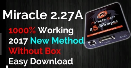 Download Latest Micracle Box 2 27A Without Box +Crack+Full